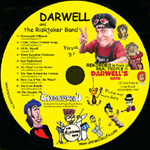 Darwell's Cafe Papa D and The Risk Taker Band CD's