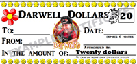 Darwell's Cafe Gift Certificates